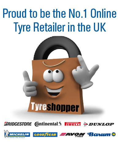 Proud to be the No.1 Online Tyre Retailer in the UK