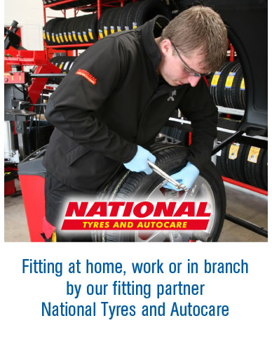 Fitted by National tyres and Autocare