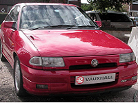 Vauxhall Astra Tyres